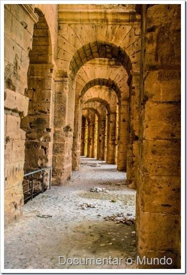Anfiteatro de El Jem; Vestígios Romanos; Tunísia