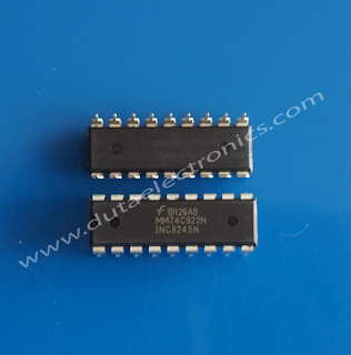 Jual IC MM74C922N (DIP-18 PIN )