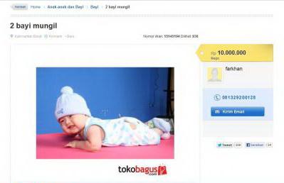 iklan bayi
