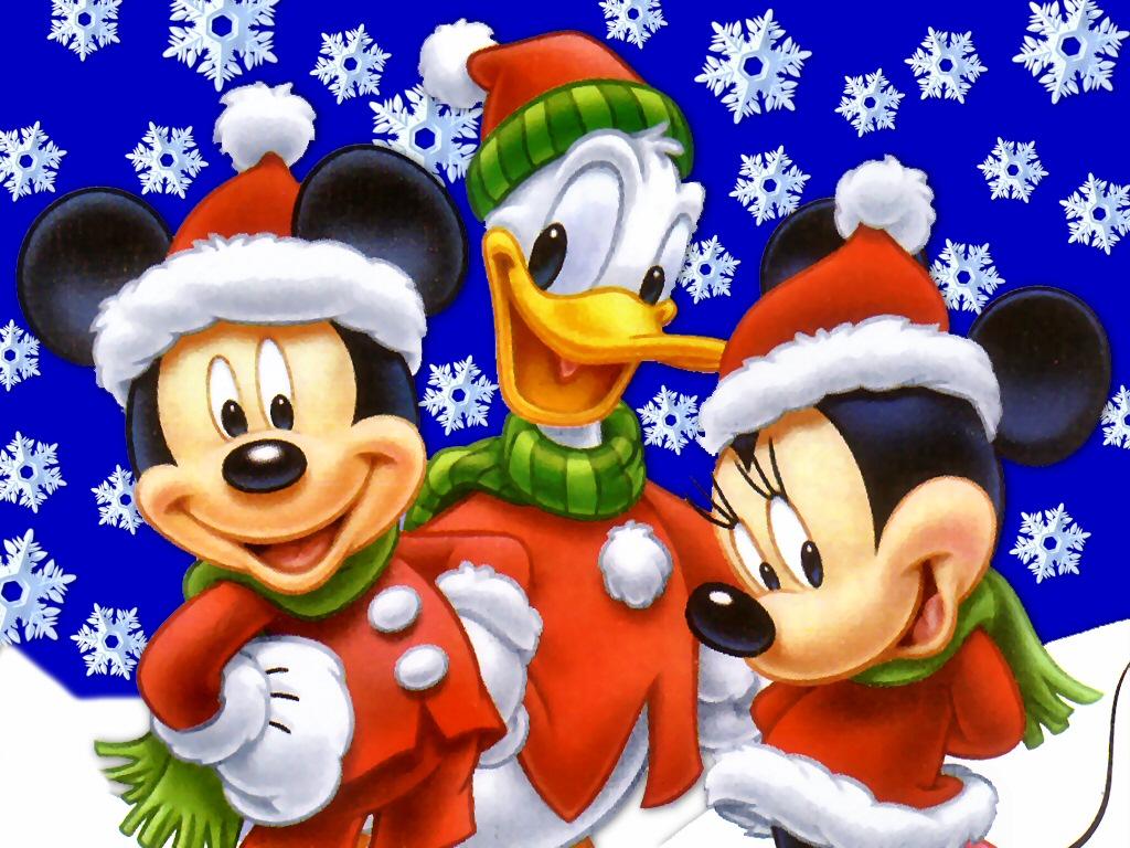 Christmas cartoon wallpapers free for desktop