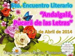 """5to. Encuentro Literario """"Andalgalá, Pucará de las Letras"""""""