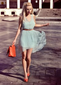 Mint pull & bear dress by Meri Wild