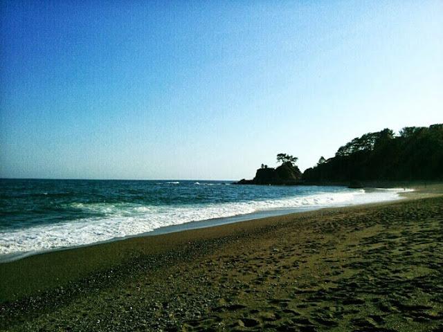 Keidahan Alam Pantai Katsurahama Jepang