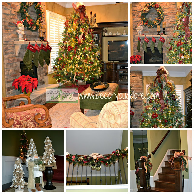 burgandy-gold-color-scheme-Christmas-decor