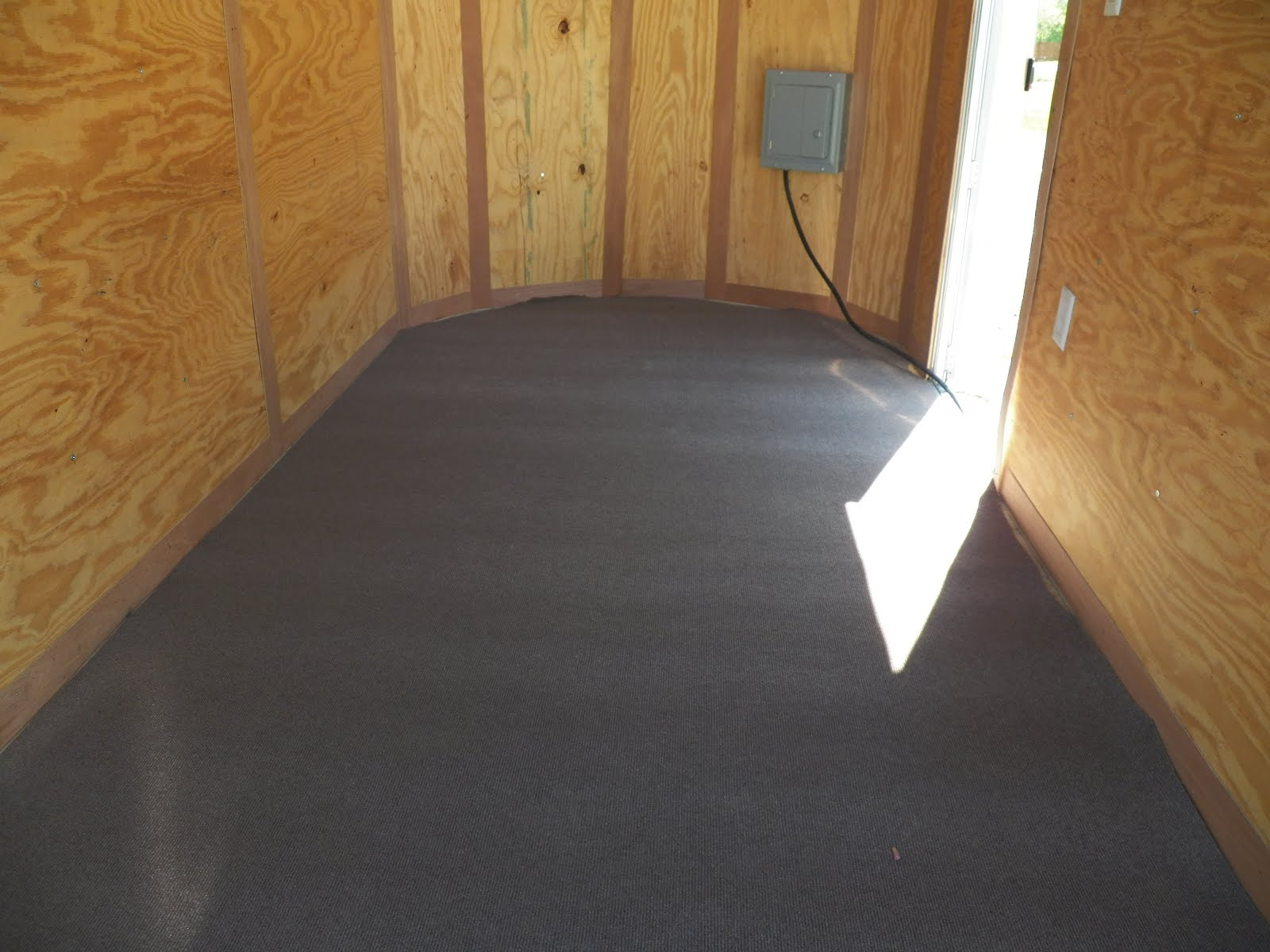 enclosed trailer flooring ideas. One Thing I Never Got Around To With The 1st STEALTH Trailer, Was Doing Something Floor!! Fixed That Issue New Rig Today!! Enclosed Trailer Flooring Ideas