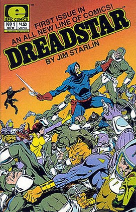 Dreadstar - Jim Starlin