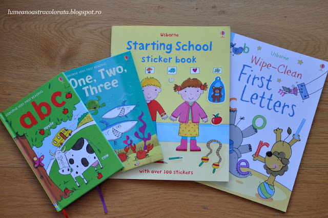 Starting School Set editura Usborne
