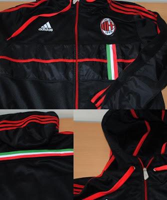 Jaket AC Milan Anthem Murah