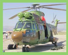 La Fuerza Aérea de Bolivia recibe su segundo helicópteros Super Puma
