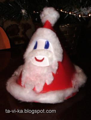 Дед Мороз своими руками christmascraft