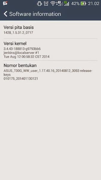 update firmware Zenfone 4 manual