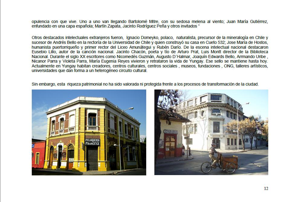 Arquitectura arte y patrimonio barrio yungay estudio - Agg arquitectura ...