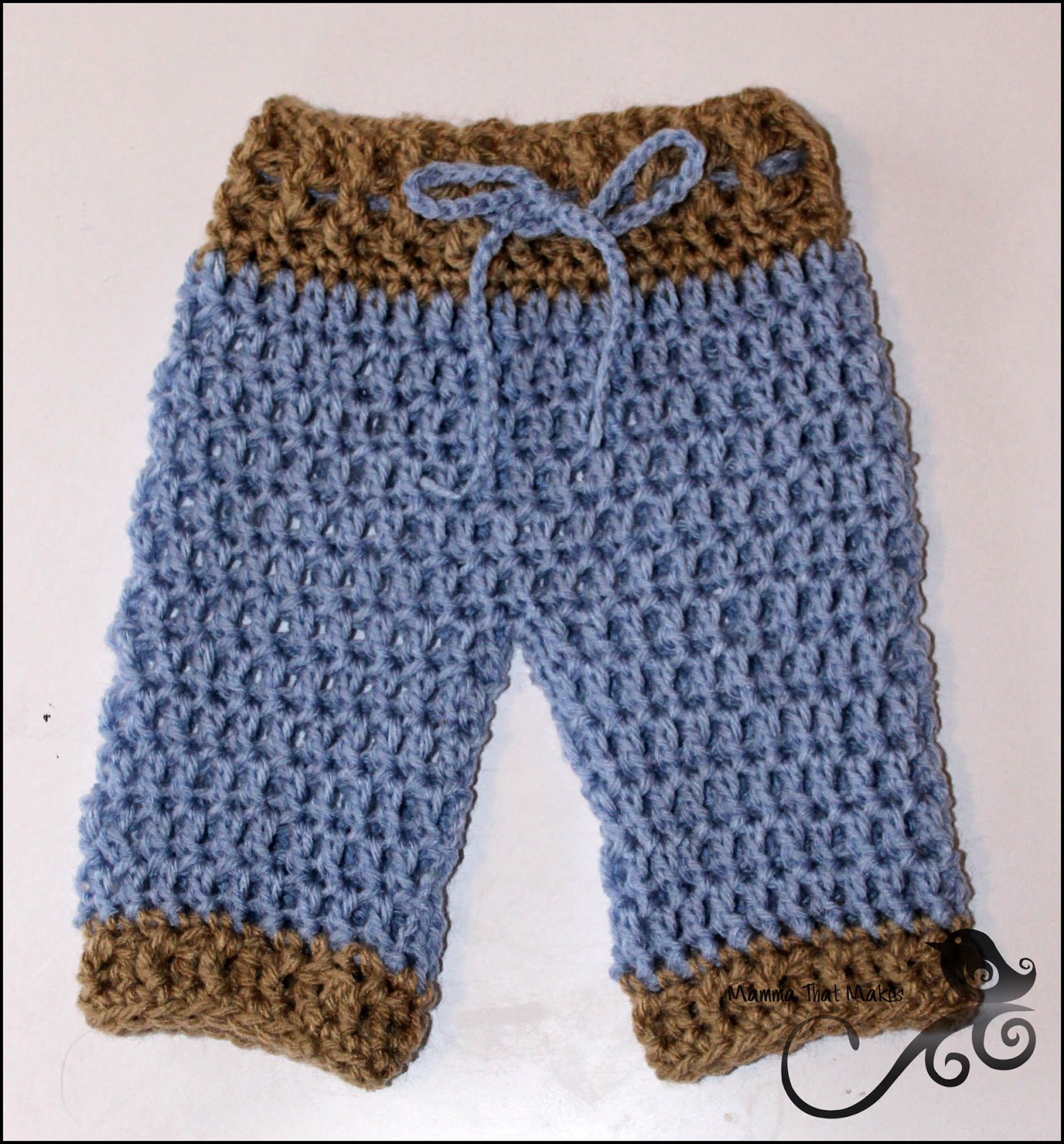 Crochet Pants : Mamma That Makes: Lil Pants - Free Pattern