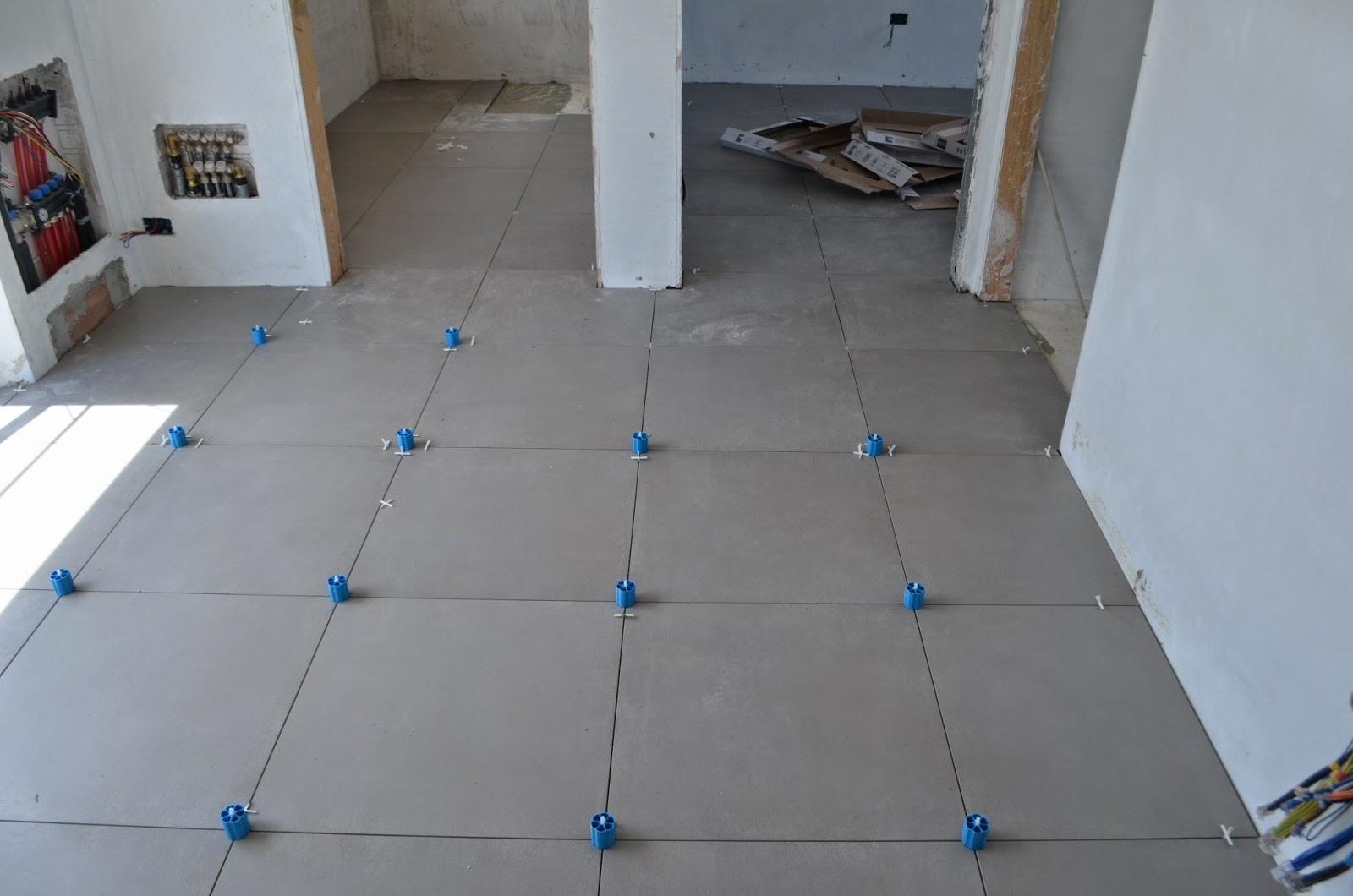Casa delle ginestre iniziata la posa dei pavimenti - Prezzo posa piastrelle 60x60 ...