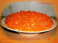 салат селёдка под лисьей шубой