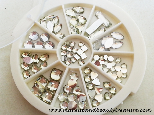 Born Pretty Store Water Drop Rhinestones Nail Art Crystal Wheel Box Review