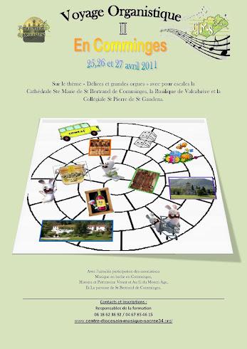 Voyage organistique en Comminges - Pâques 2011