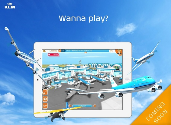 Airline KLM iPhone, iPad, iPod touch and Android game app
