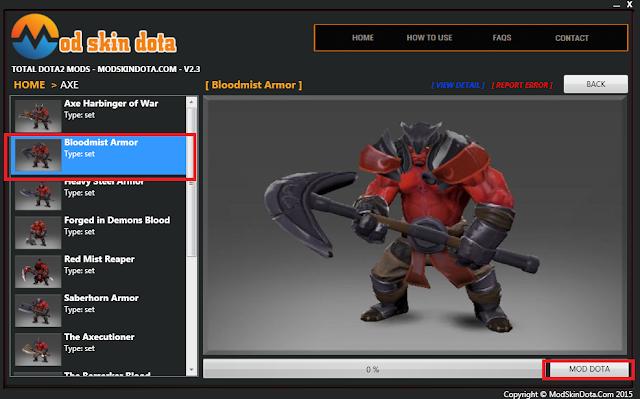 [Mod Dota] Bloodmist Armor