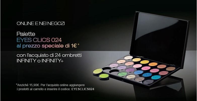 KIKO - Palette Eyes CLICS 024 a 1€ in promozione