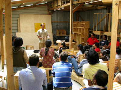 Carpentry class in India