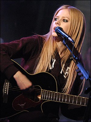 album avril lavigne my happy ending. Whibley and Lavigne continued