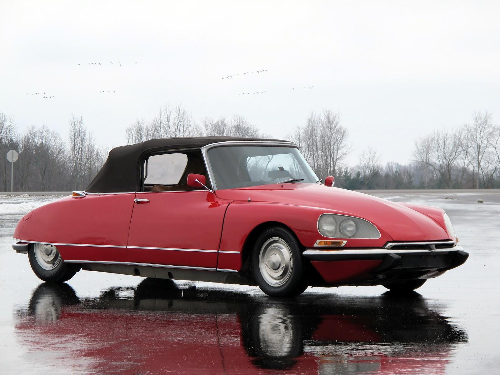 retro cars citro n ds 19 cabriolet 39 1961 71 1. Black Bedroom Furniture Sets. Home Design Ideas