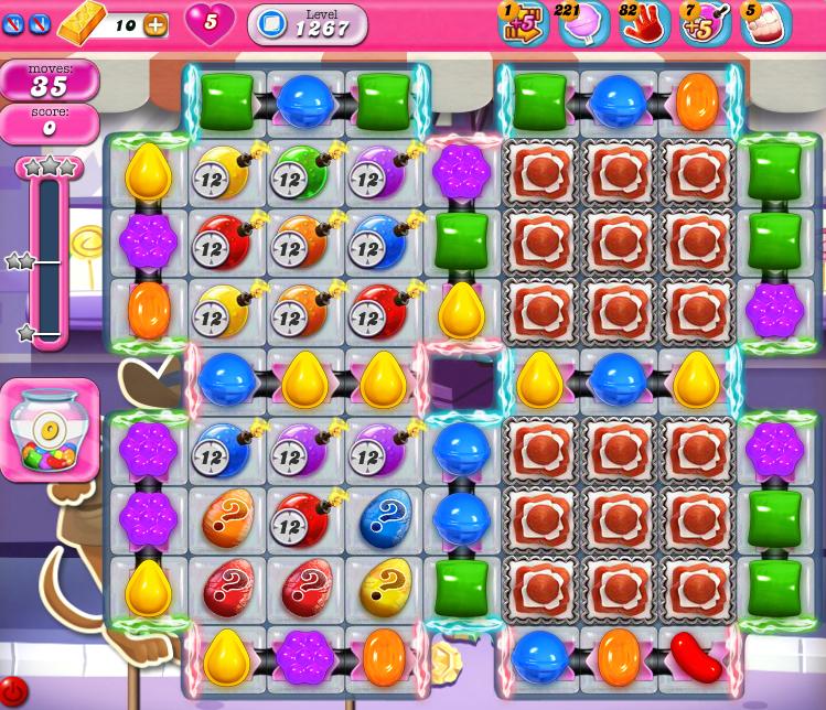 Candy Crush Saga 1267