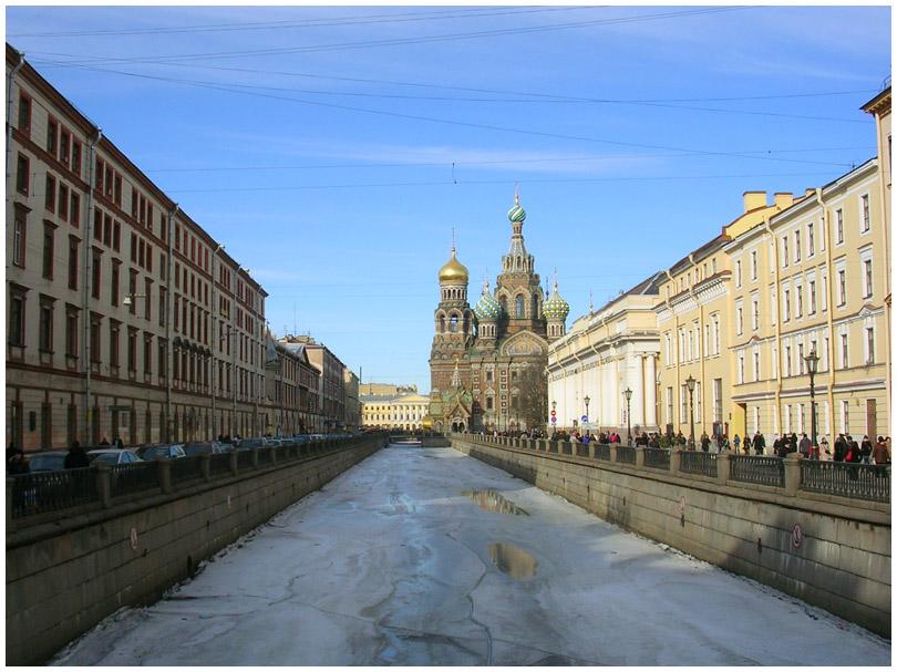 Санкт-Петербург канал Грибоедова Спас-на-Крови