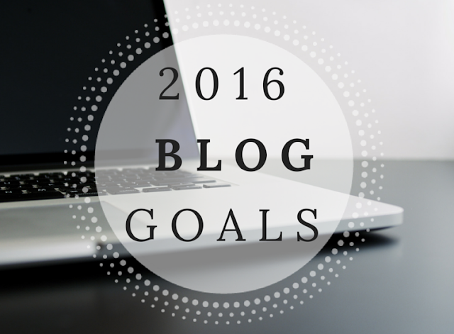 blog goals, new years resolutions