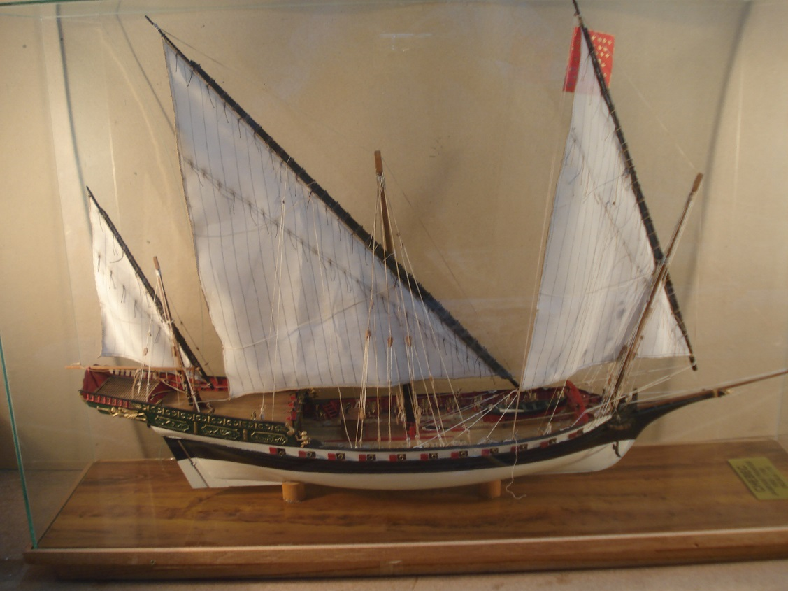 Modelismo Scratch Barcos Antiguos: JABEQUE DE GUERRA