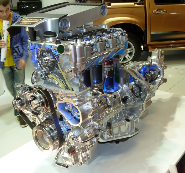 Isuzu D-Max 2016 Engine