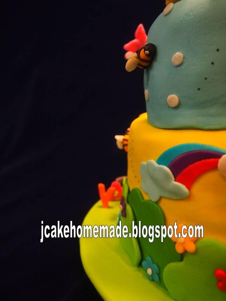 Jcakehomemade: Winnie the Pooh birthday cake
