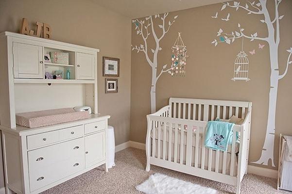 Armario De Parede Para Quarto De Bebe : Ideias de decora??o para quartos beb? jeito casa