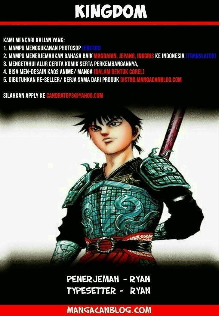 Dilarang COPAS - situs resmi www.mangacanblog.com - Komik kingdom 371 - tonryuu berubah 372 Indonesia kingdom 371 - tonryuu berubah Terbaru |Baca Manga Komik Indonesia|Mangacan