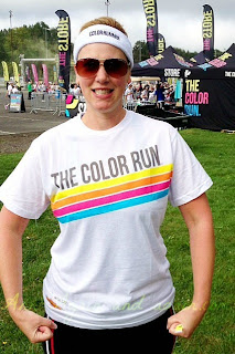The Color Run Portland - Chevy Cruze - Ann Again and again