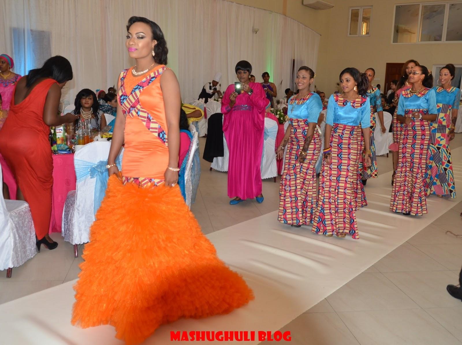 Mishono mipya mizuri ya vitenge 2014 wedding dresses elhouz
