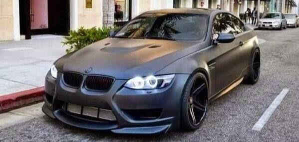 Gambar Modifikasi Mobil BMW Soft Black