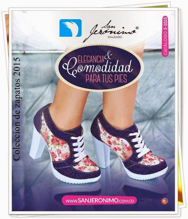 Coleccion de Calzado San Jeronimo C-3 2015