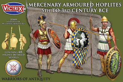 Victrix Mercenary Armoured Hoplites