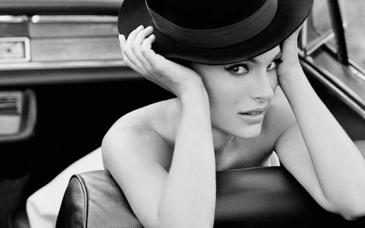 Natalie Portman Cap Hot Wallpaper HD