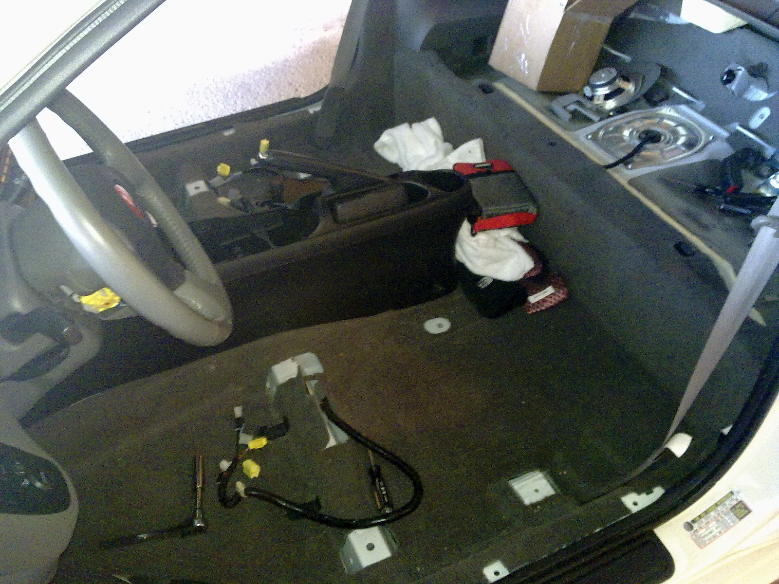 Acura Rsx Type Honda Integra Installing Red Carpet