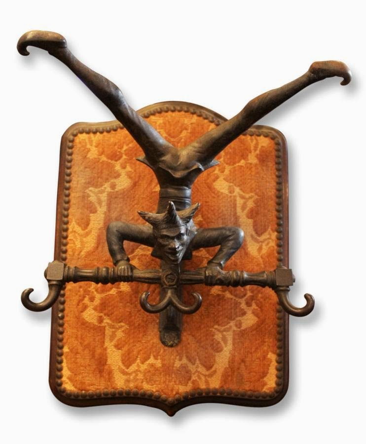 http://ogtstore.com/furniture/furnishings/19th-century-jester-cast-iron-coat-hook/