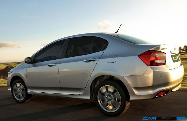 Novo Honda City 2013 -lateral