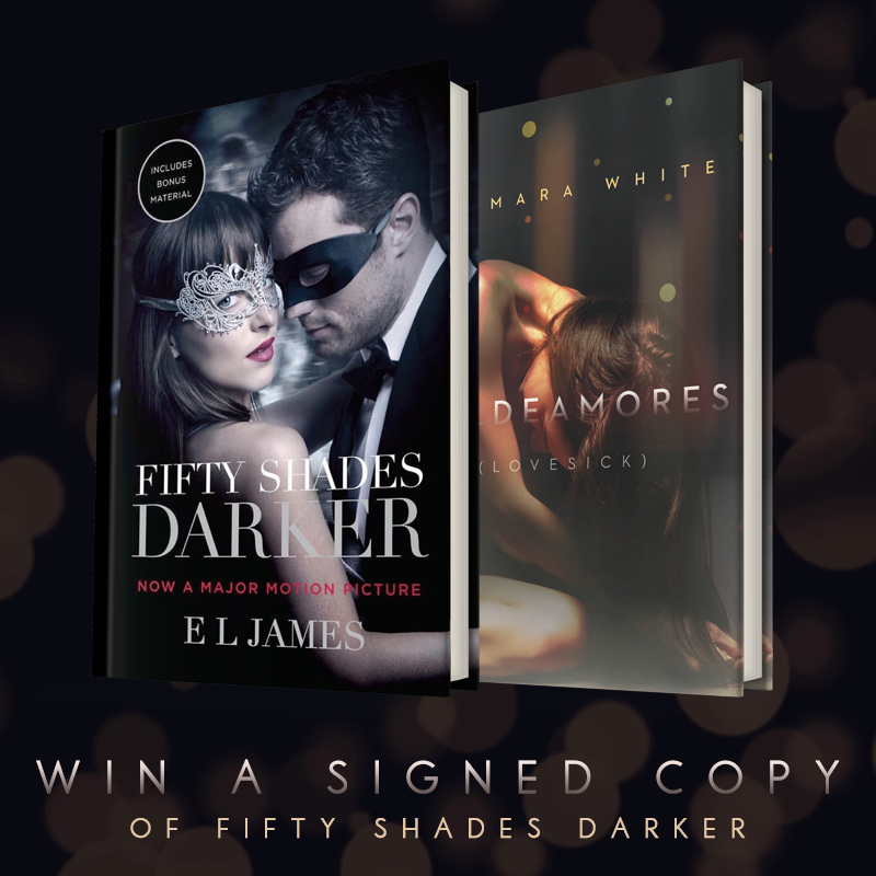 Win A Signed Copy of Fifty Shades Darker