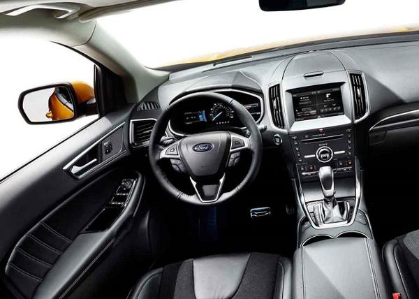 2016 ford edge new Dashboard