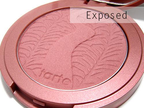 tarte exposed blush