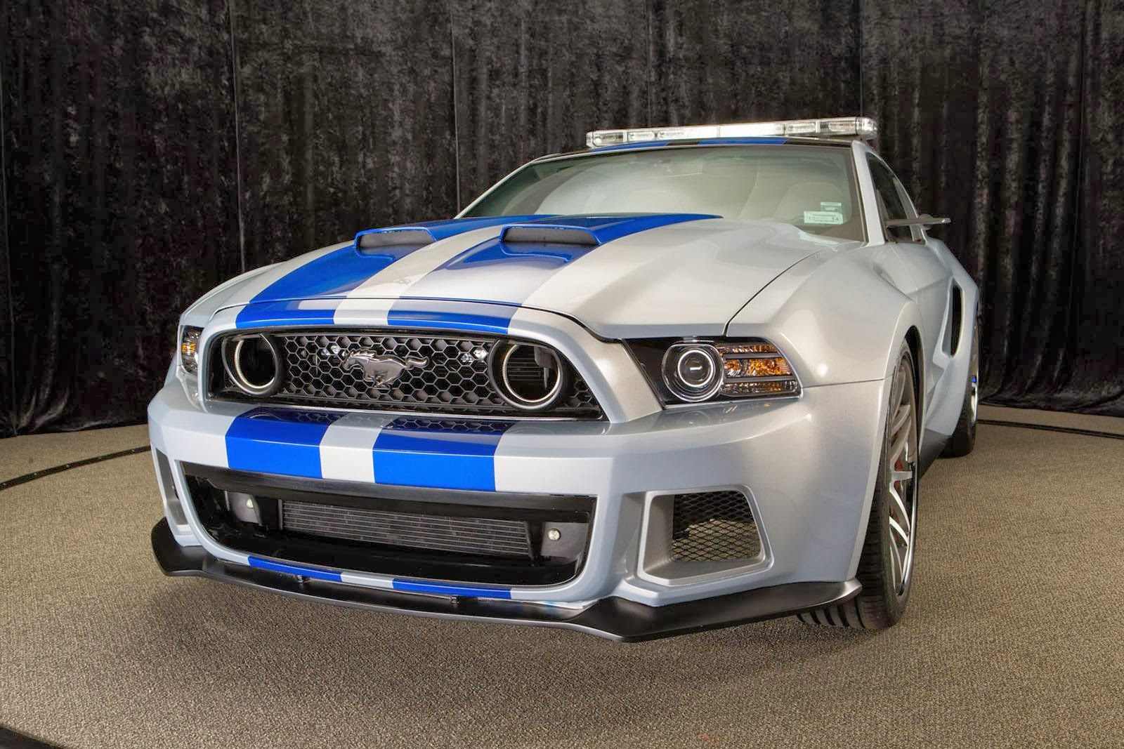 need for speed mustang pace car unveiled. Black Bedroom Furniture Sets. Home Design Ideas