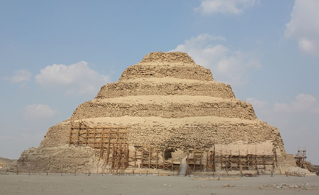 Egypt's step-pyramid awaiting tourists