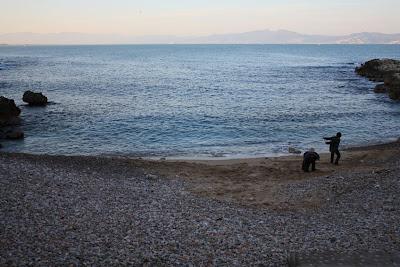 Little beach in L'Escala